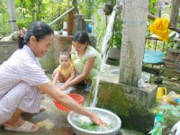 Nước sinh hoạt được sử dụng cho nhu cầu sinh hoạt hàng ngày