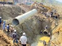 Vỡ đường ống, giải pháp nào cho nguồn nước sông Đà