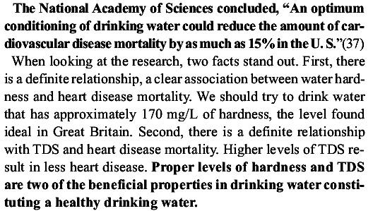 nước uống và bệnh tim mạch