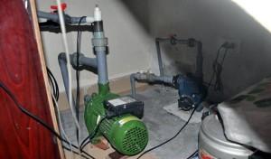Lắp giếng khoan trong nhà dùng khi mất nước máy