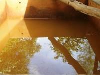 Nước giếng khoan nhiễm sắt gấp lần cho phép