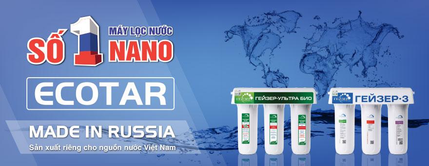 Máy lọc nước nano Ecotar