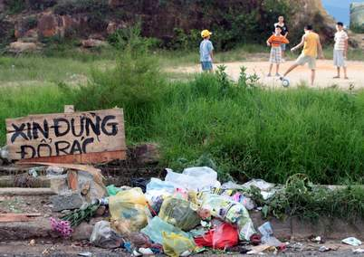 Image result for o nhiễm rác thải