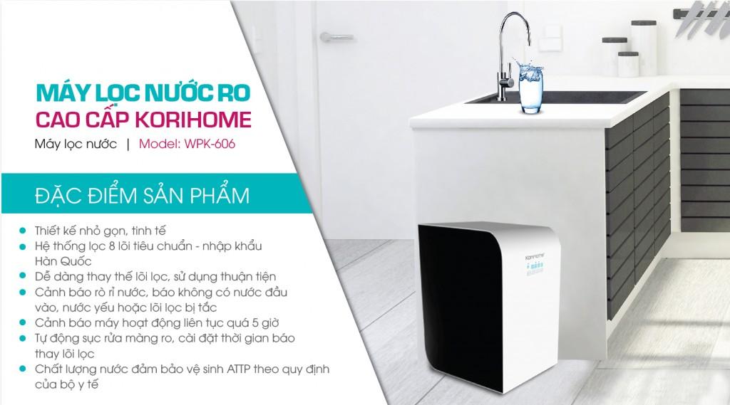 máy lọc nước RO cao cấp kirohome