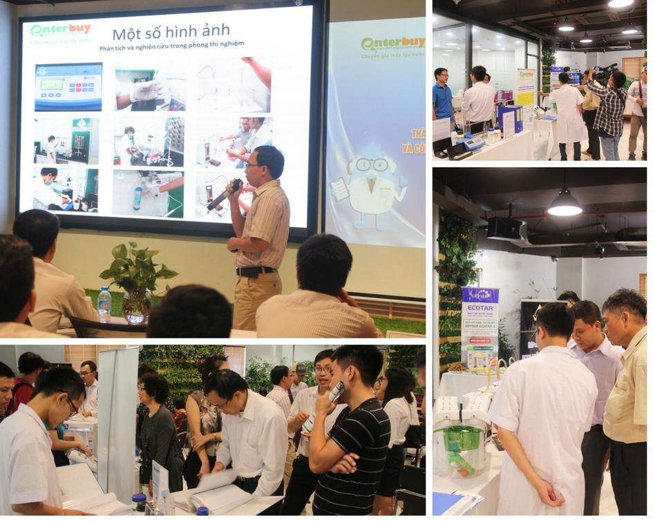 Phòng chuyên gia nước Enterbuy nghiên cứu mang lại những giải pháp xử lý cho nguồn nước Việt