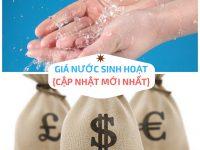 Băn khoăn về giá nước sinh hoạt tại Hà Nội