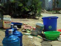 Tình trạng khan hiếm nước tại Hà Nội
