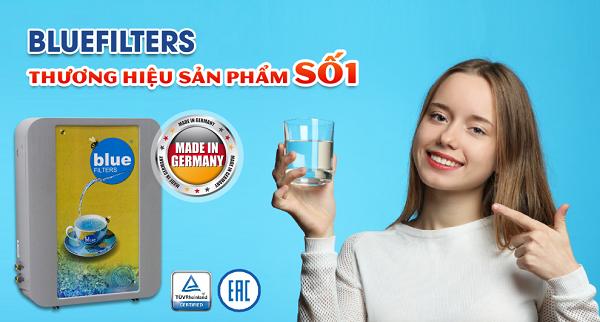 Máy lọc nước ion canxi Bluefilters