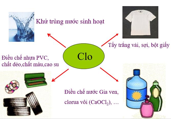 ứng dụng của Clo