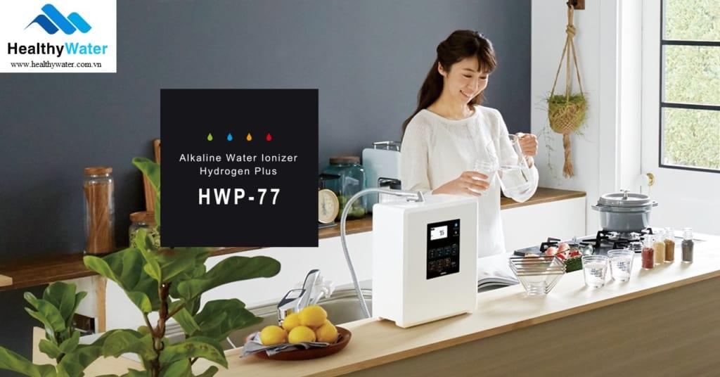 Máy lọc nước ion kiềm Fujiijoki HWP-77